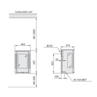 CONTURA C865W pakabinama krosnelė (su pasirinkimais) 3