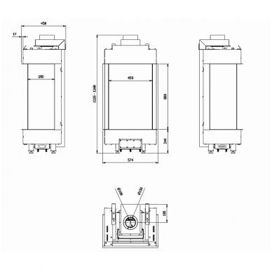 KRATKI LEO 45/68 L/P dujinis židinys 3