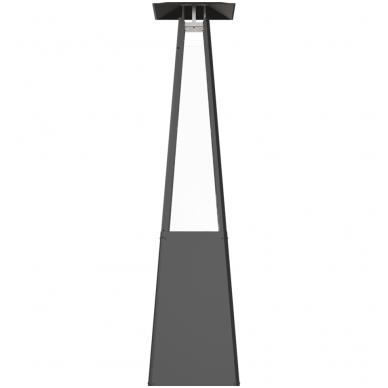KRATKI UMBRELLA juodas dujinis lauko židinys 2