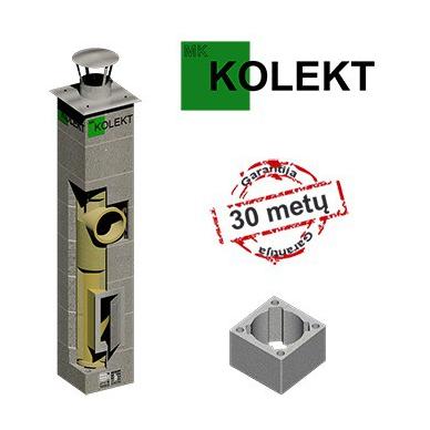 MK Kolekt vieno kanalo dūmtraukis, ø160 mm