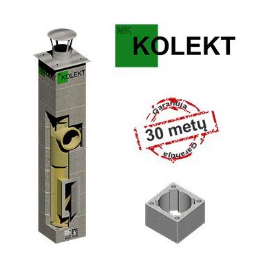 MK Kolekt vieno kanalo dūmtraukis, ø180 mm