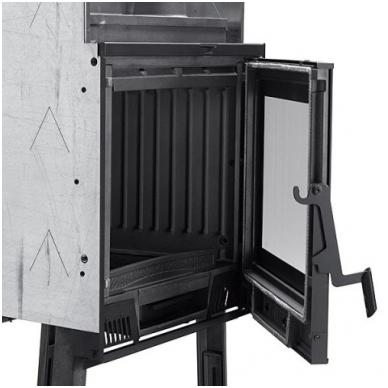 Nordica židinys Focolare Piano 60 EVO 8,5kW 2
