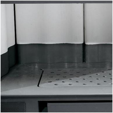 Nordica židinys Inserto 50 Verticale Crystal Ventilato 8,3kW 2