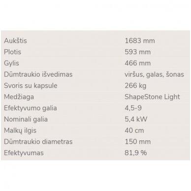 NORDPEIS PISA židinys (su pasirinkimais) 5