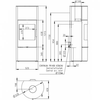 ROMOTOP PALEA 03 akumuliacinė krosnelė 3