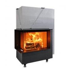 SPARTHERM PREMIUM V-2L-80h plieninis židinio ugniakuras