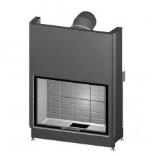 SPARTHERM VARIA 1V-100h-4S plieninis židinio ugniakuras