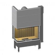 SPARTHERM VARIA 2R2L-80h-4S plieninis židinio ugniakuras (su pasirinkimais)