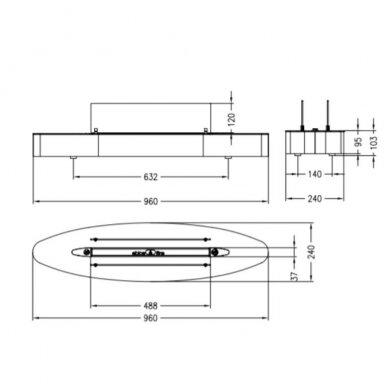 SPARTHERM EBIOS - FIRE ELIPSE BASE biožidinys (su pasirinkimais) 5