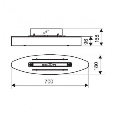 SPARTHERM EBIOS - FIRE ELIPSE BASE MINI biožidinys (su pasirinkimais) 5