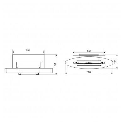SPARTHERM EBIOS - FIRE ELIPSE WALL biožidinys (su pasirinkimais) 6
