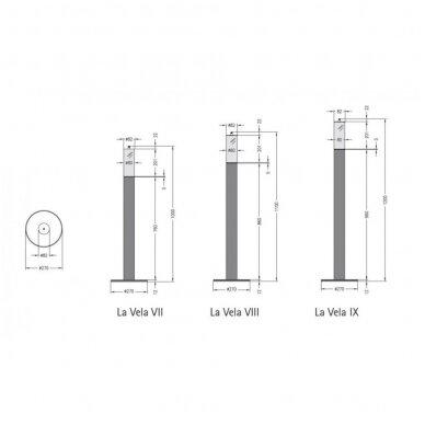 SPARTHERM LA VELA GRANDE IX biožidinys - žvakė (su pasirinkimais) 4