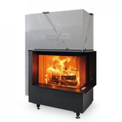 SPARTHERM PREMIUM V-2R-80h plieninis židinio ugniakuras