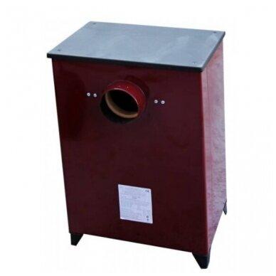 THORMA FILEX-HB bordo spalvos plieninė krosnelė 2